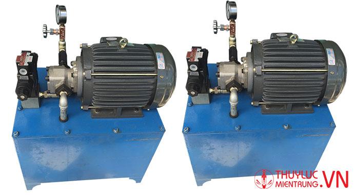 bộ nguồn thủy lực máy bẻ đai