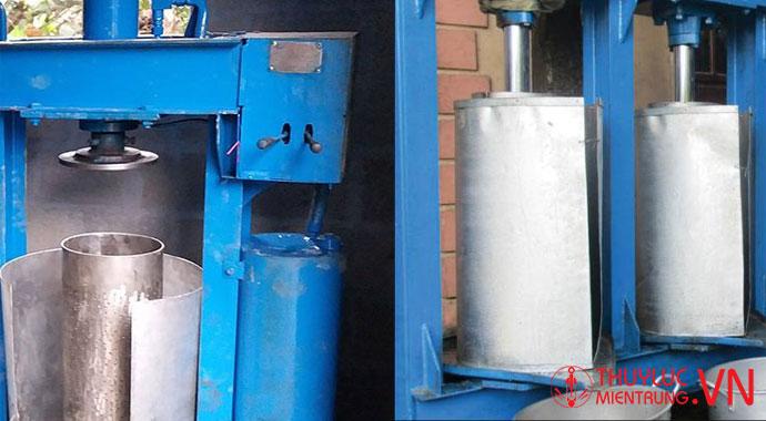 máy ép dầu lạc thủy lực