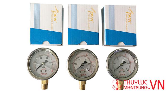 đồng hồ đo áp suất pvn